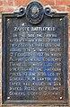 Zapote Battlefield historical marker.jpg