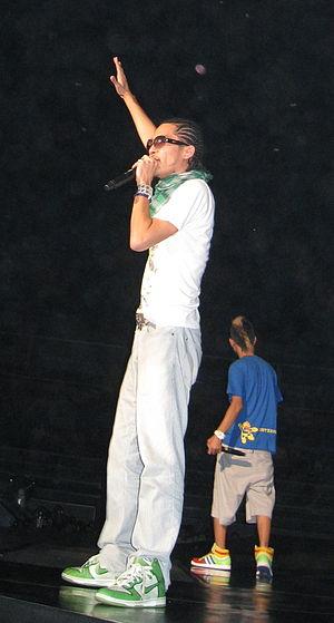 Zeebra - Zeebra at Asian Hip Hop Festival, Thailand.