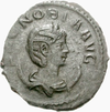 Coin depicting Zenobia as empress