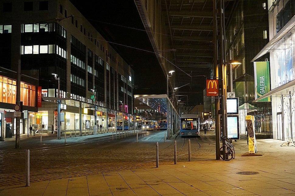 Zentralhaltestelle Chemnitz, Innenstadt, 2015