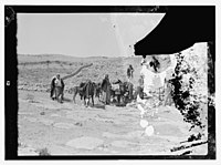 Zerka-Main & Machaerus, also Zerka (town), T-J (i.e., Transjordan), Nov. 1930, May 5-6, 1932. LOC matpc.14116.jpg