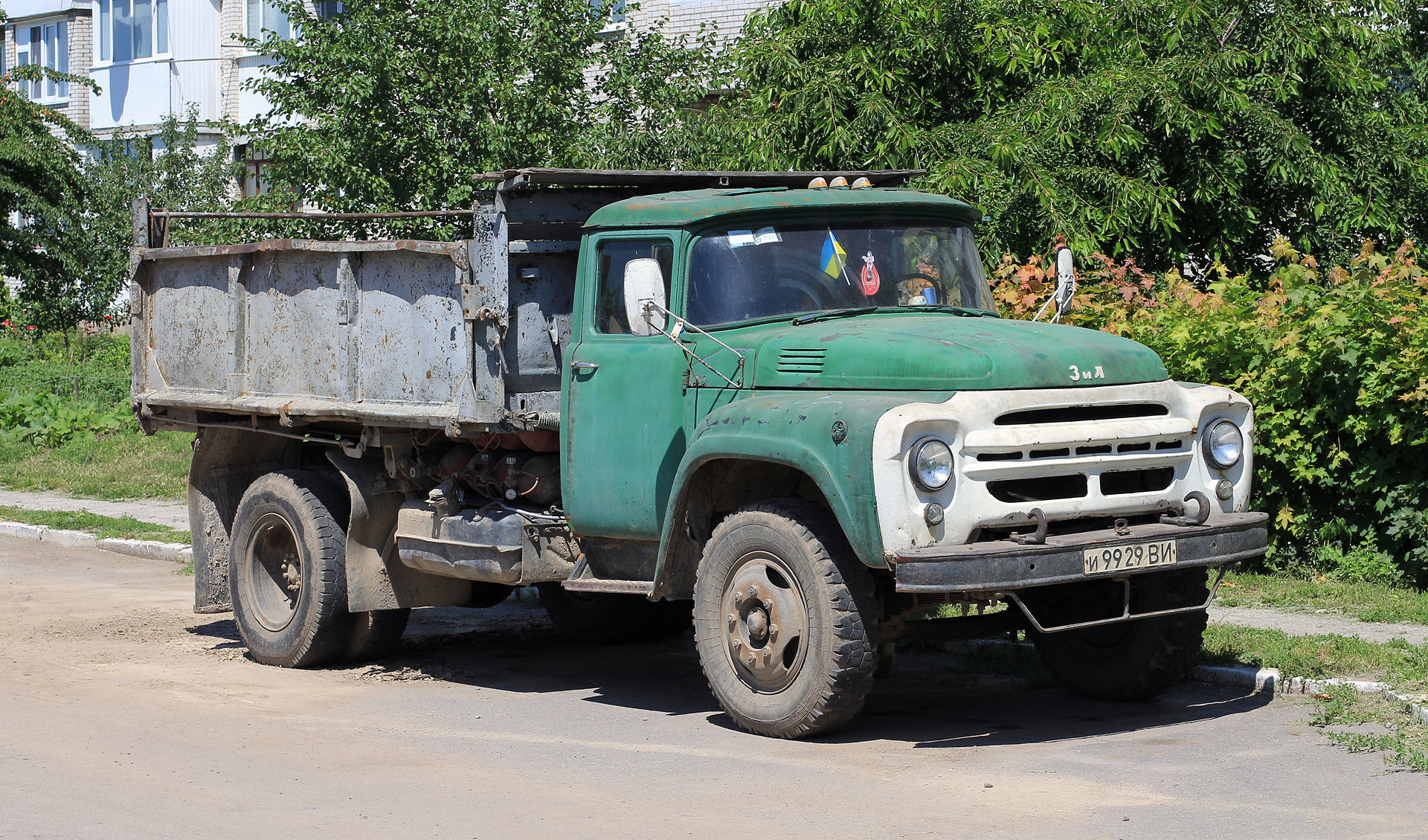 Spotted Cars In Moscow Zil 130 Awp Truck