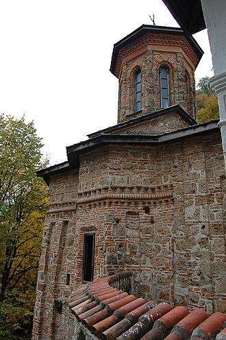 Wallachian uprising of 1821 - Tismana Monastery, the Pandurs' original base