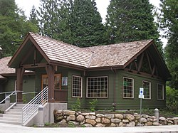 The Zigzag Ranger Station
