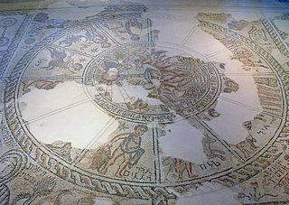 zodiac mosaic synagogue