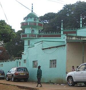 Islam in Malawi - A mosque in Zomba