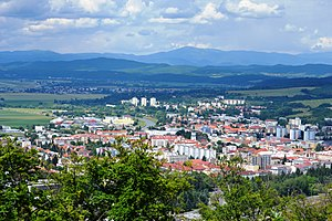 Zvolen - View of the city Zvolen