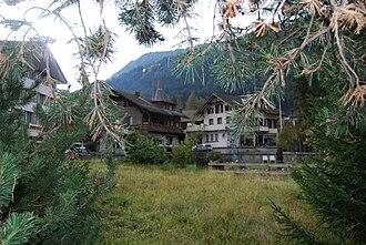Zweisimmen - A village in Zweisimmen