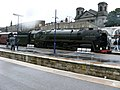 """Oliver Cromwell"" at Scarborough Station - geograph.org.uk - 921781.jpg"