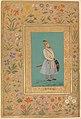 """Portrait of Qilich Khan Turani"", Folio from the Shah Jahan Album MET DP247721.jpg"