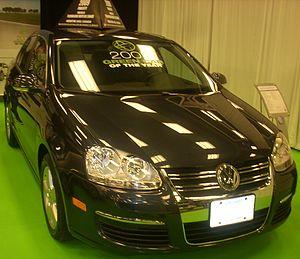 Volkswagen emissions scandal - Image: '09 Volkswagen Jetta Diesel Sedan (MIAS)