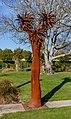 'Is Man an Ape or Angel?' sculpture in Addington, Christchurch, New Zealand 08.jpg