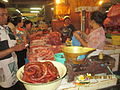 'Meat products' in Denpasar market.JPG