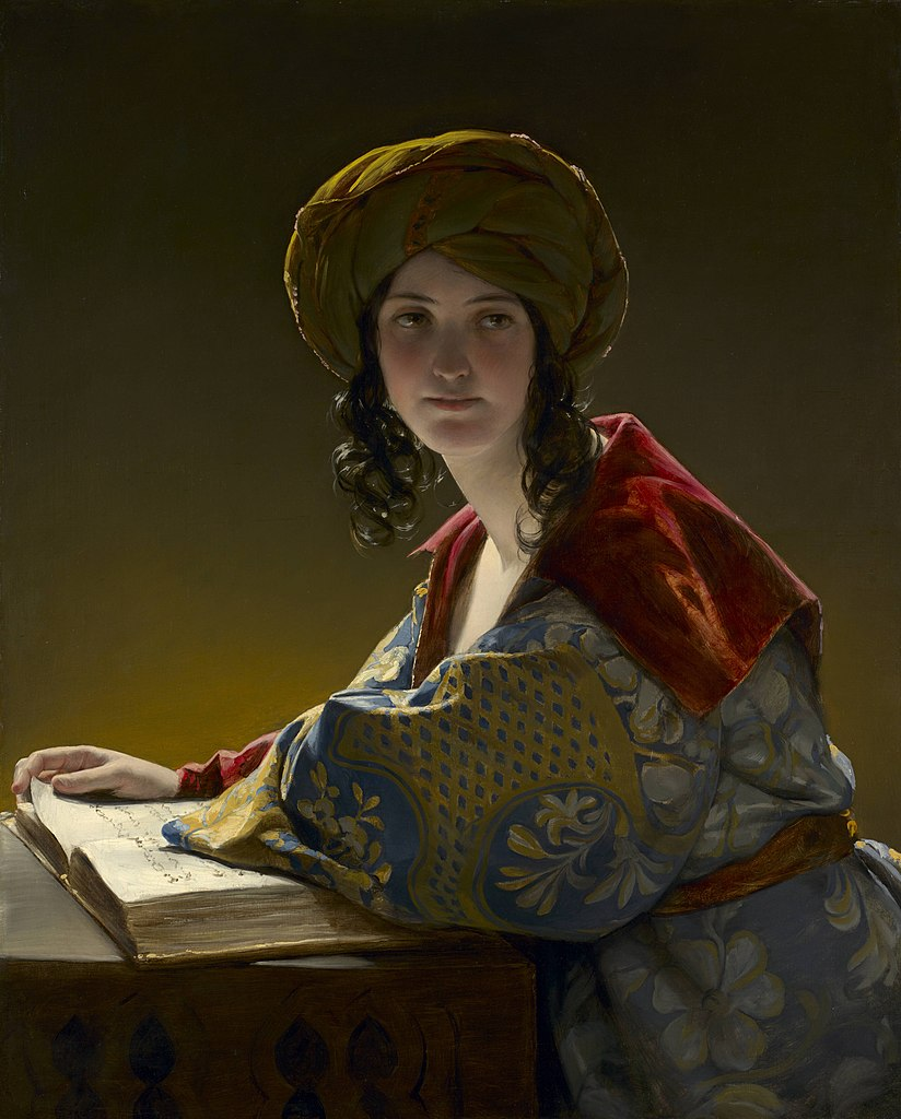 File:'The Young Eastern Woman' by Friedrich Amerling, 1838 ...