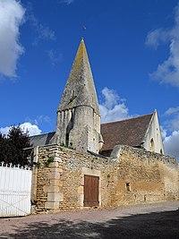 Église Saint-Pierre et Saint-Paul de Damblainville. Vue sud.jpg