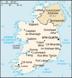 A short history of ireland a country in the far western europe