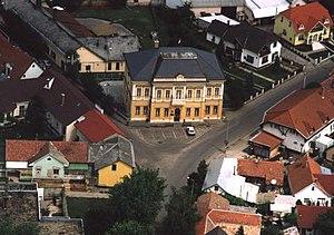Újfehértó - Image: Újfehértó légifotó1
