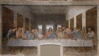 Тайная вечеря (фреска Леонардо да Винчи) — Википедия a3da749e319dc