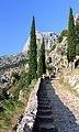 Ścieżka do Twierdzy Świętego Jana w Kotorze 01.jpg