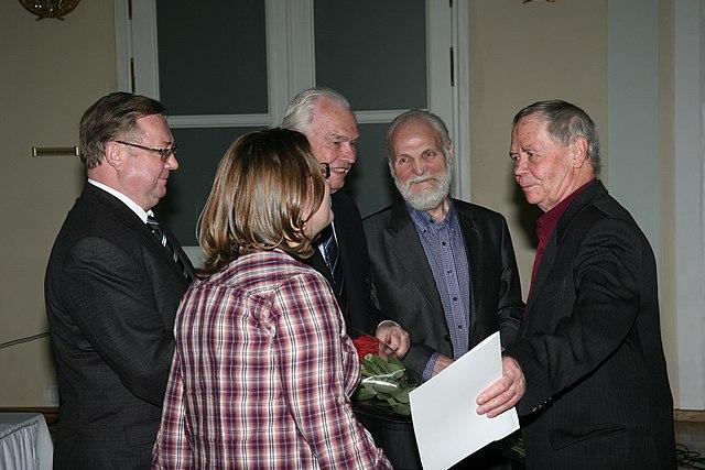 Церемония вручения Большой литературной премии России за 2011 год.1 декабря 2011 года