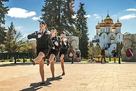 Guard of Honor, Chelyuskintsev Square, Yaroslavl, 2018