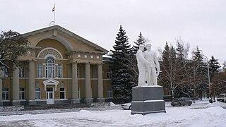 Volgodonsk City in Rostov Oblast, Russia