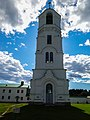 Колокольня Александро-Свирского монастыря в ясную погоду.jpg
