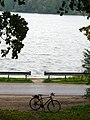 Ляндварскае возера. Lentvario ežeras. Lentvario lake - panoramio (1).jpg