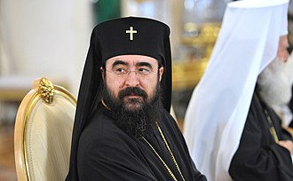 Митрополит Западной и Южной Европы Иосиф перед началом встречи с представителями поместных православных церквей.jpeg