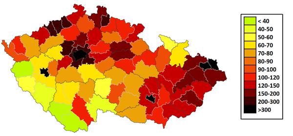 Сколько населения в чехии
