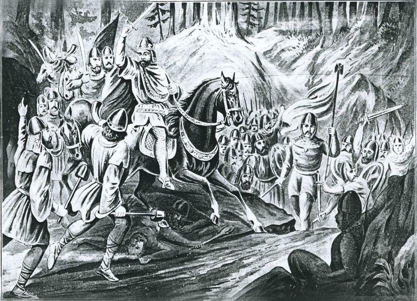 Славна победа Војислава над Грцима год. 1043.
