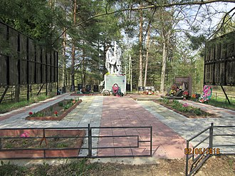 Spas-Demensky District - War memorial in Spas-Demensk