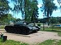 Танк в посёлке Кузнечики Подольского района.jpg
