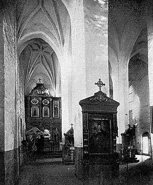 Belarusian Gothic - Image: Церква Святих Бориса і Гліба в Новогрудку