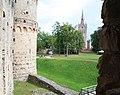 Цесис (Латвия) Ров у стен замка - panoramio.jpg