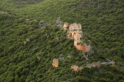 Pevnost Montfort v Izraeli
