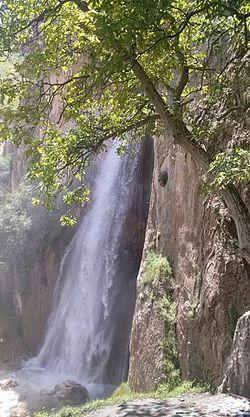 نتیجه تصویری برای آبشار شاهاندشت