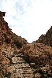 Ancient Cobblestoned Pathway in Zagros, Behbahan