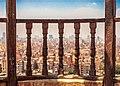 منظر علوي للقاهرة من أعلي قلعة صلاح الدين العلوي - Top view of Cairo from the highest citadel of Saladin.jpg