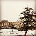 گنبد برفی مسجد شیخ لطف الله.jpg
