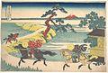 冨嶽三十六景 隅田川関屋の里-Sekiya Village on the Sumida River (Sumidagawa Sekiya no sato), from the series Thirty-six Views of Mount Fuji (Fugaku sanjūrokkei) MET DP141097.jpg
