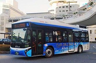 Toyota FCHV - Toyota FC Bus
