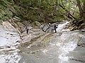 釜の沢西俣 両門滝上部のナメ 2012-06-30 - panoramio.jpg