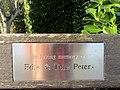 -2018-12-17 Peters dedicated bench, North Lodge Park, Cromer.JPG