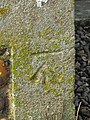 -2019-01-25 Benchmark, North east corner of Saints Peter and Paul, Edgefield, Norfolk (1).JPG