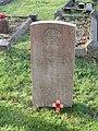 -2020-12-28 CWGC gravestone, Lieutenant A. G. Davies, Royal Artillery, London Yoemanry, Cromer town cemetery.JPG