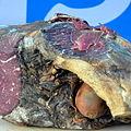 0.2014 Nordvorkarpatischer luftgetrockneter Rindfleischschinken von Jasiolka.JPG