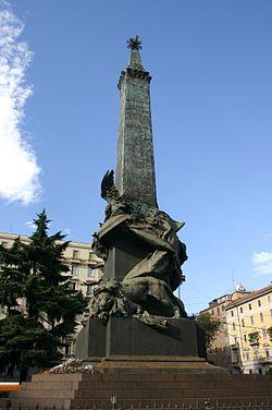 0318 - Milano - Giuseppe Grandi (1843-1894) - Monumento alle 5 giornate, (1895) - Foto Giovanni Dall'Orto.jpg