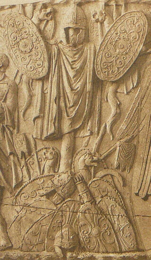 057 Conrad Cichorius, Die Reliefs der Traianssäule, Tafel LVII (Ausschnitt 02).jpg