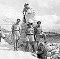 070 1942 - Kareem, Tom, Sid ^ Len at the Gates of Ehden, 30 miles from Tripoli, Syria 02.jpg